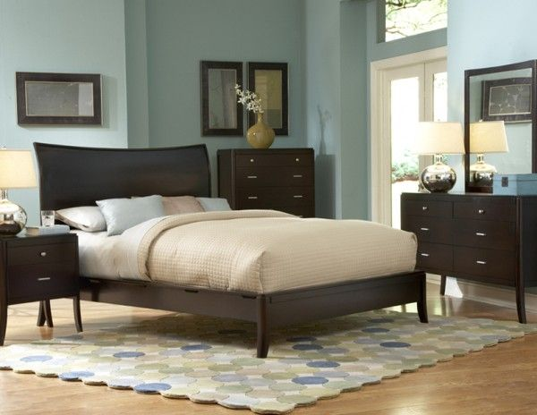 Bedroom Furniture Espresso homelegance 864 horizons espresso bedroom furniture set & platform