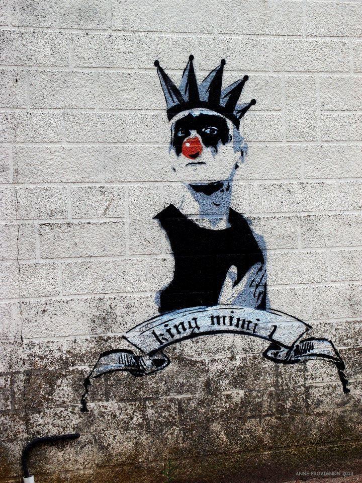 Mimi Le Clown Street Art | Mimi Le Clown Street Art | Pinterest
