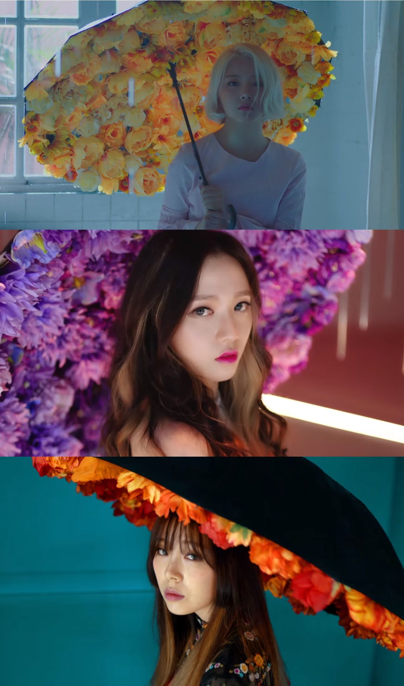 """Girl group Ladies' Code are coming back this week! Today October 10, Ladies' Code released the music video teaser for """"The Rain"""". The song is the title track of the group's next EP """"Strang3r"""" – which is set to be released on October 13. Ladies' Code announced their comeback last week – withMore"""