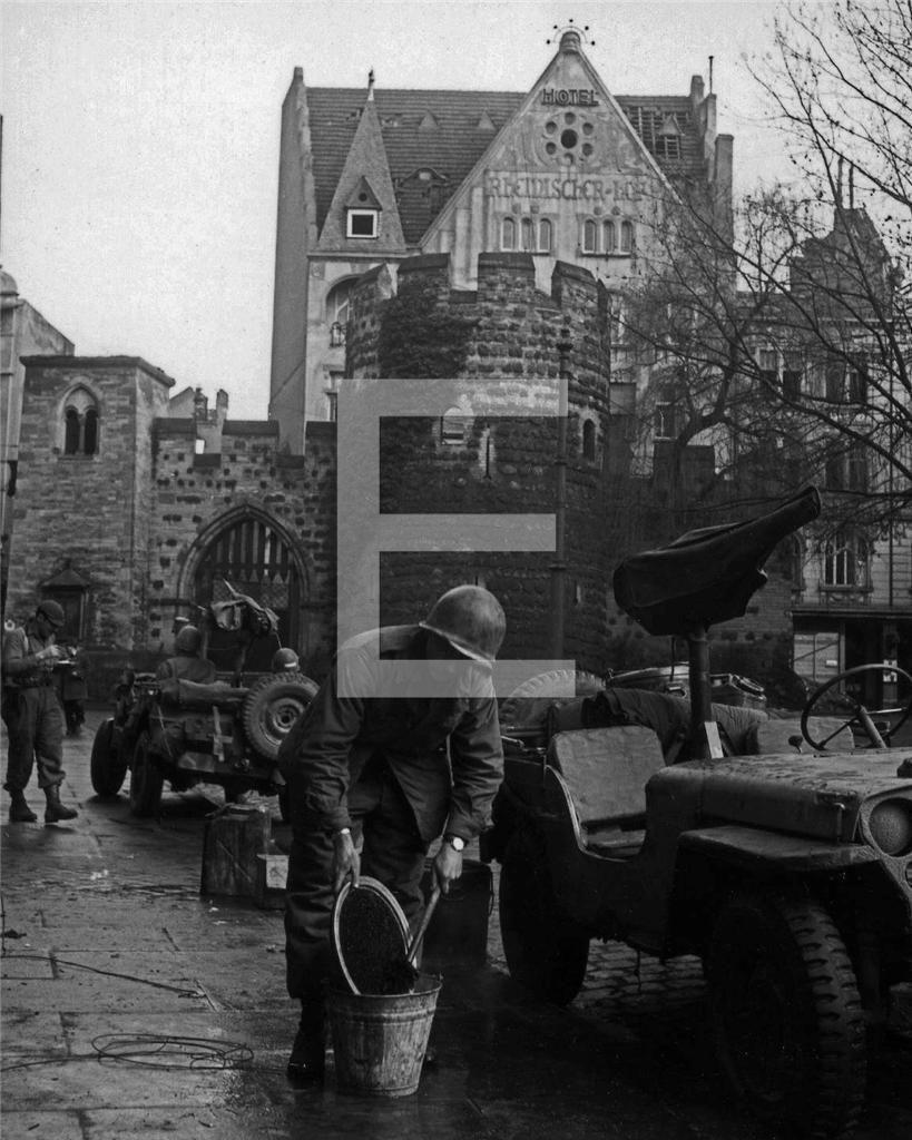 1945 Bonn Germany Sterntor Star Gate US