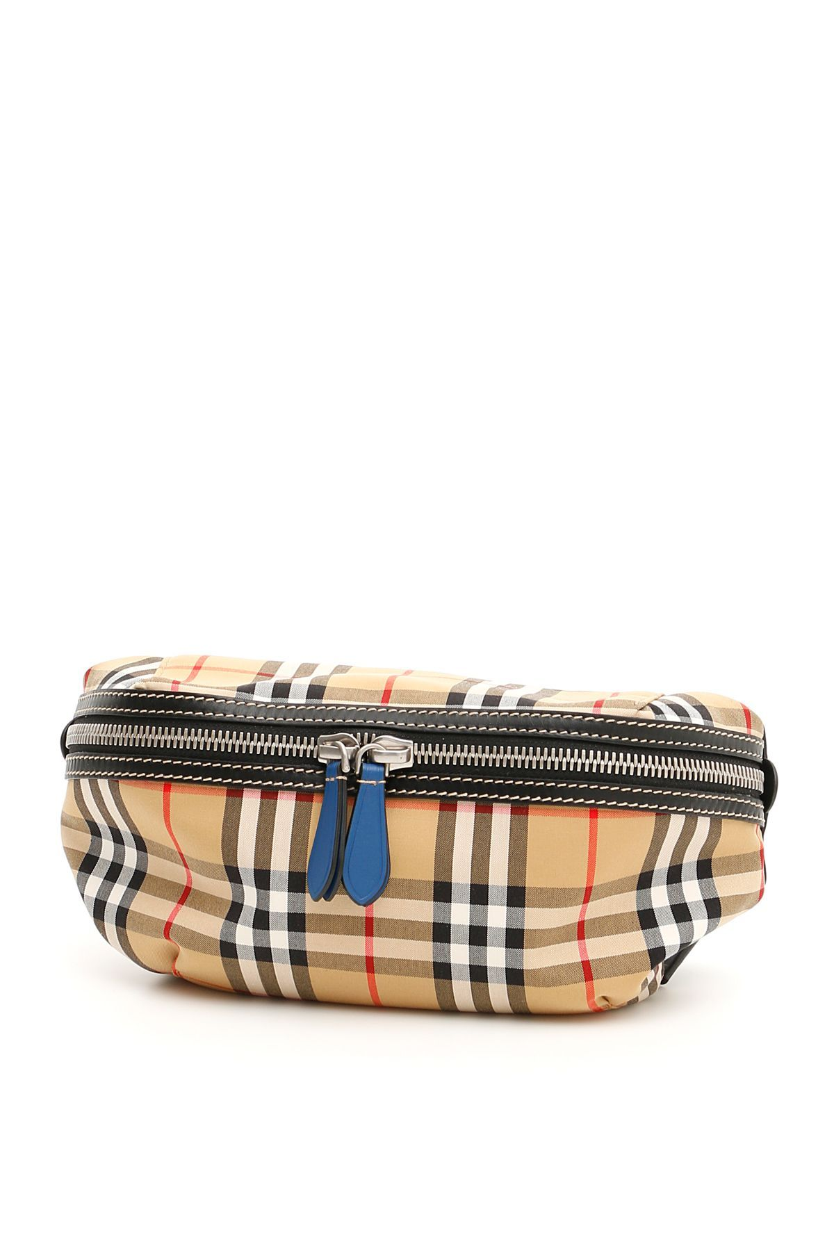 1885dc946c53 BURBERRY VINTAGE CHECK SONNY BELTBAG.  burberry  bags  leather  lining