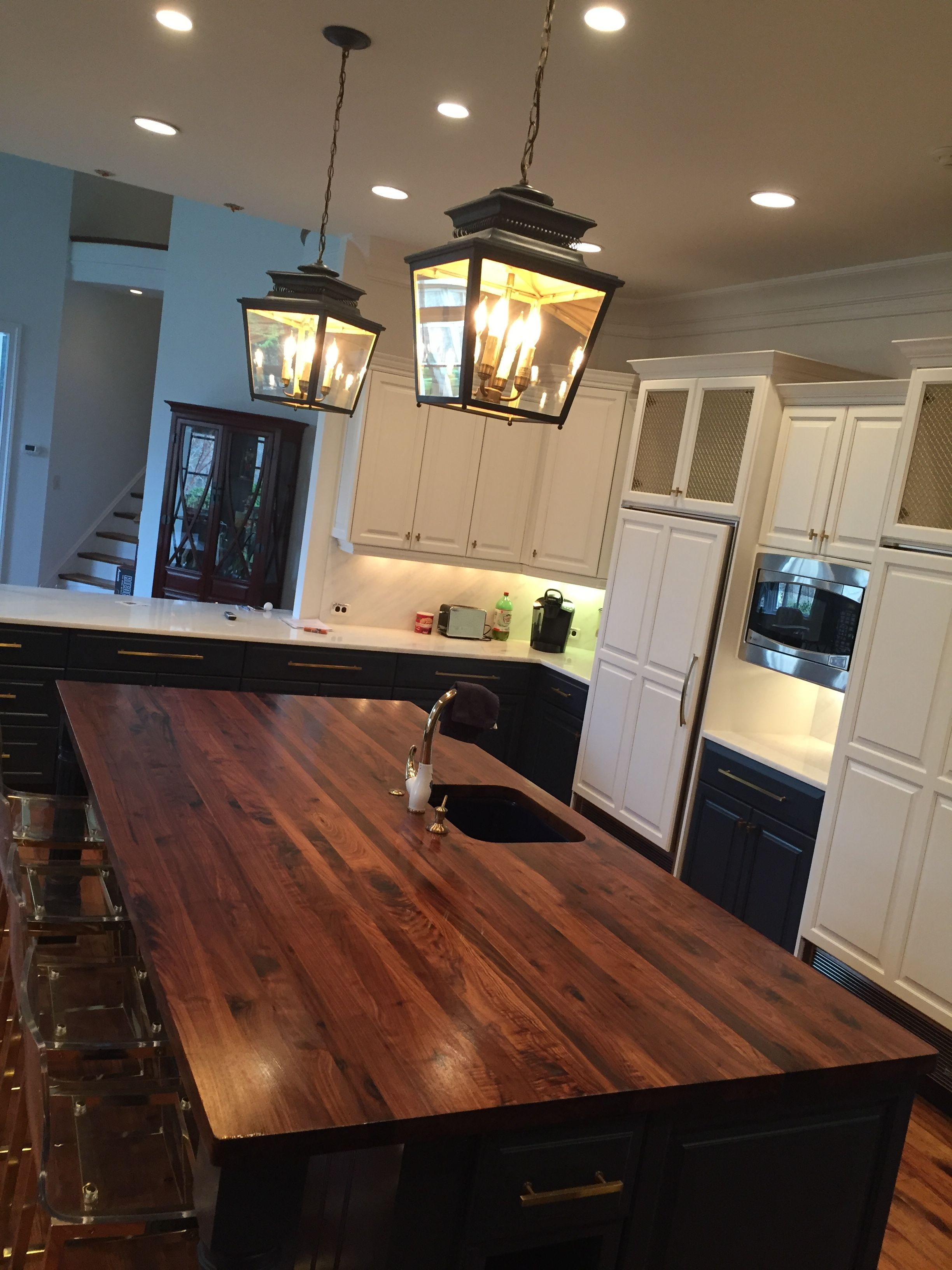 Best Custom Wood Island Top Made With American Black Walnut 640 x 480