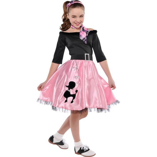 girls miss sock hop costume party city canada - All Halloween Costumes Party City