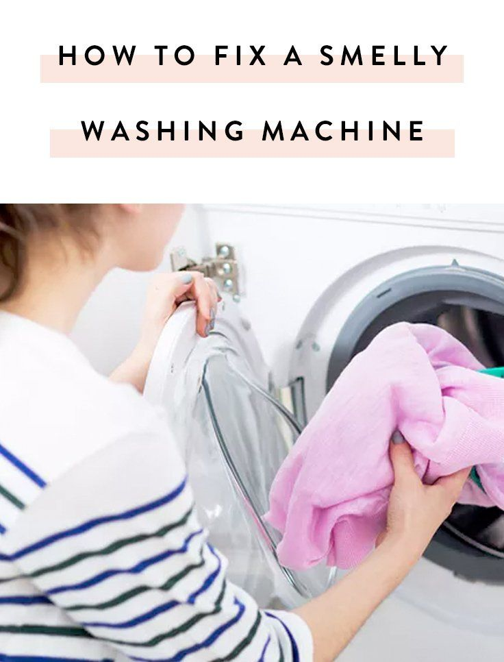 How to Clean Your Washing Machine (Because, Ew, It Smells