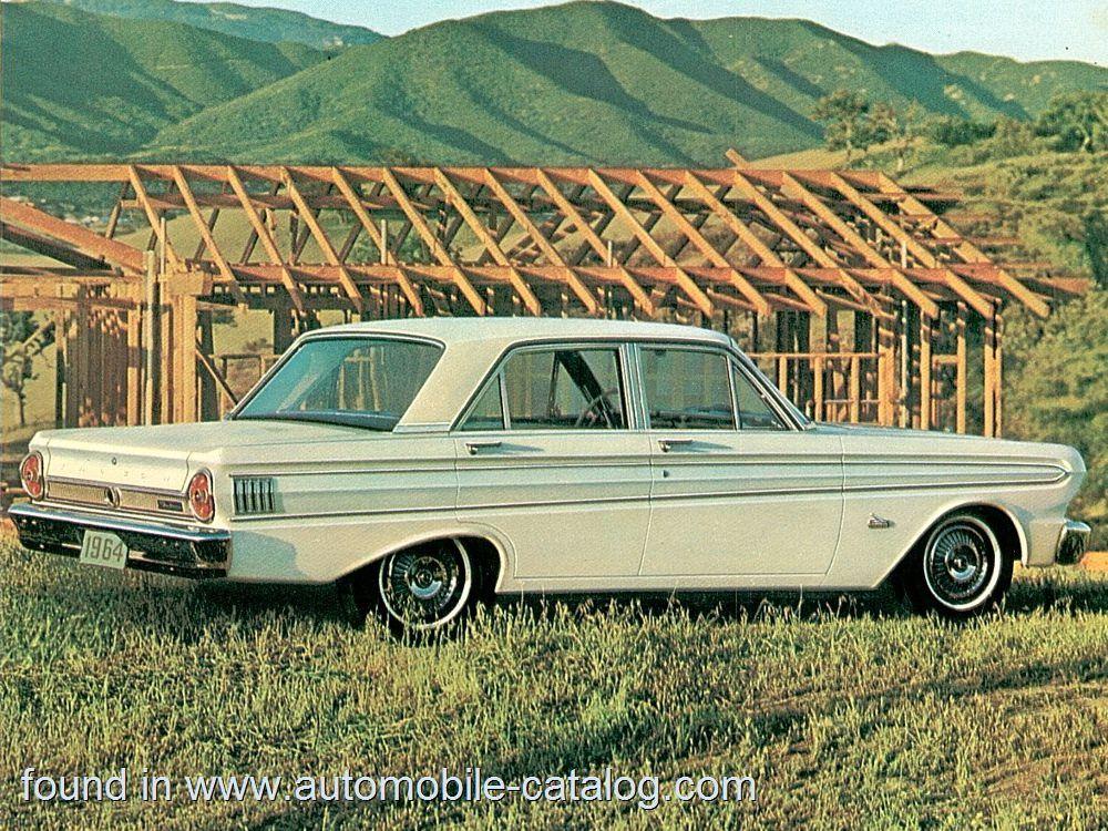 Ford Falcon Futura 4 Door Sedan Challenger 260 V 8 4 Speed 1964 1964 Ford Falcon Ford Falcon 1964 Ford
