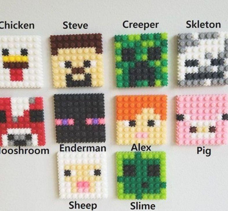 Bugelperlen Vorlagen Minecraft 18 Genial