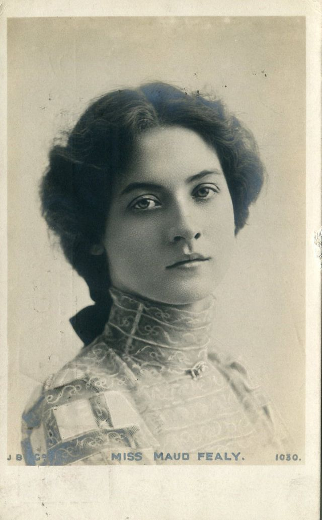 Vintage Everyday Maude Fealy In The 1900s The Girl Who Made Mens