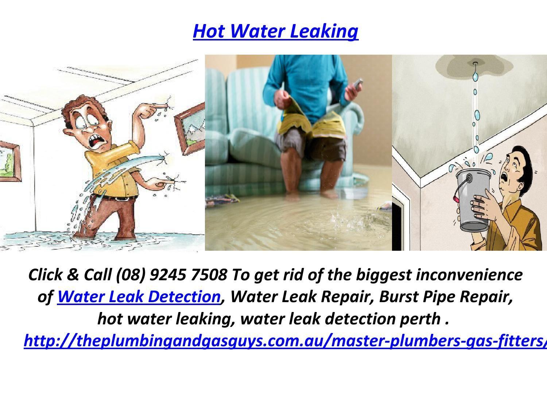 Hot water leaking leak repair leaks hot water