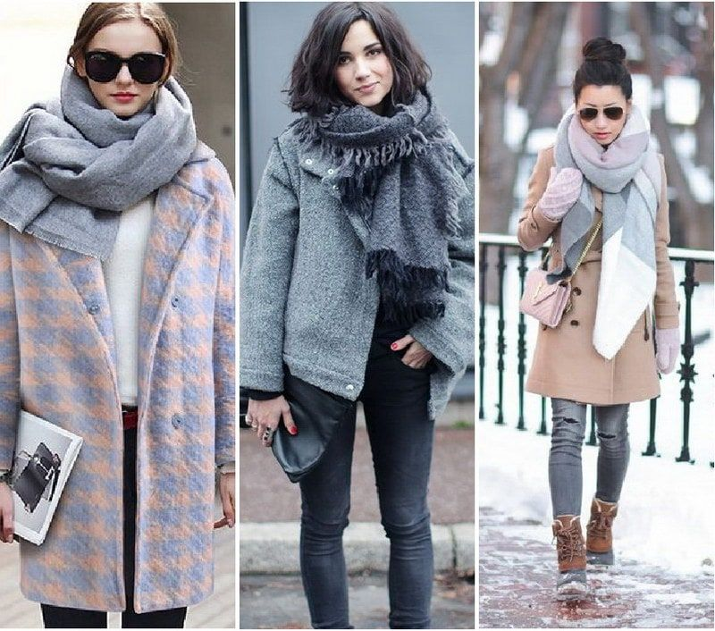 как красиво завязать шарф на пальто фото так случилось