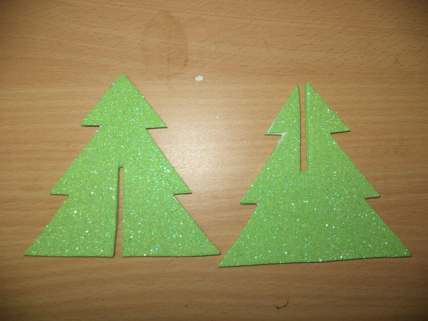 Glitter Paper Christmas Tree Paper Christmas Tree Glitter Paper Christmas Tree Crafts