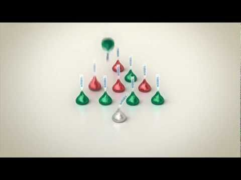 Hershey Kisses Christmas Commercial.Happy Holidays From Hershey S Kisses Milk Chocolates