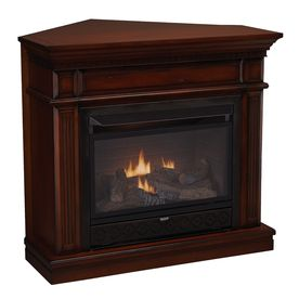 Cedar Ridge Hearth 42 In W 26000 Btu Auburn Vent Free Dual
