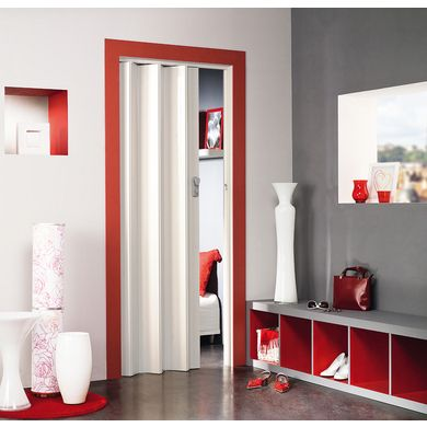Porte Extensible Pvc Spacy Porte Pliante Decoration Maison Porte Pliante Interieur