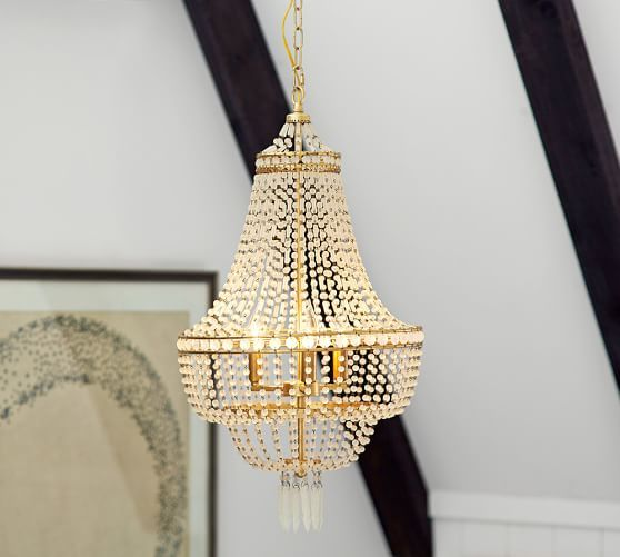 Pottery Barn Bronze Chandelier: Pottery Barn. We Both Like This