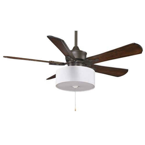 Islander oil rubbed bronze 52 inch ceiling fan with walnut blades islander oil rubbed bronze 52 inch ceiling fan with walnut blades and drum shade light aloadofball Images