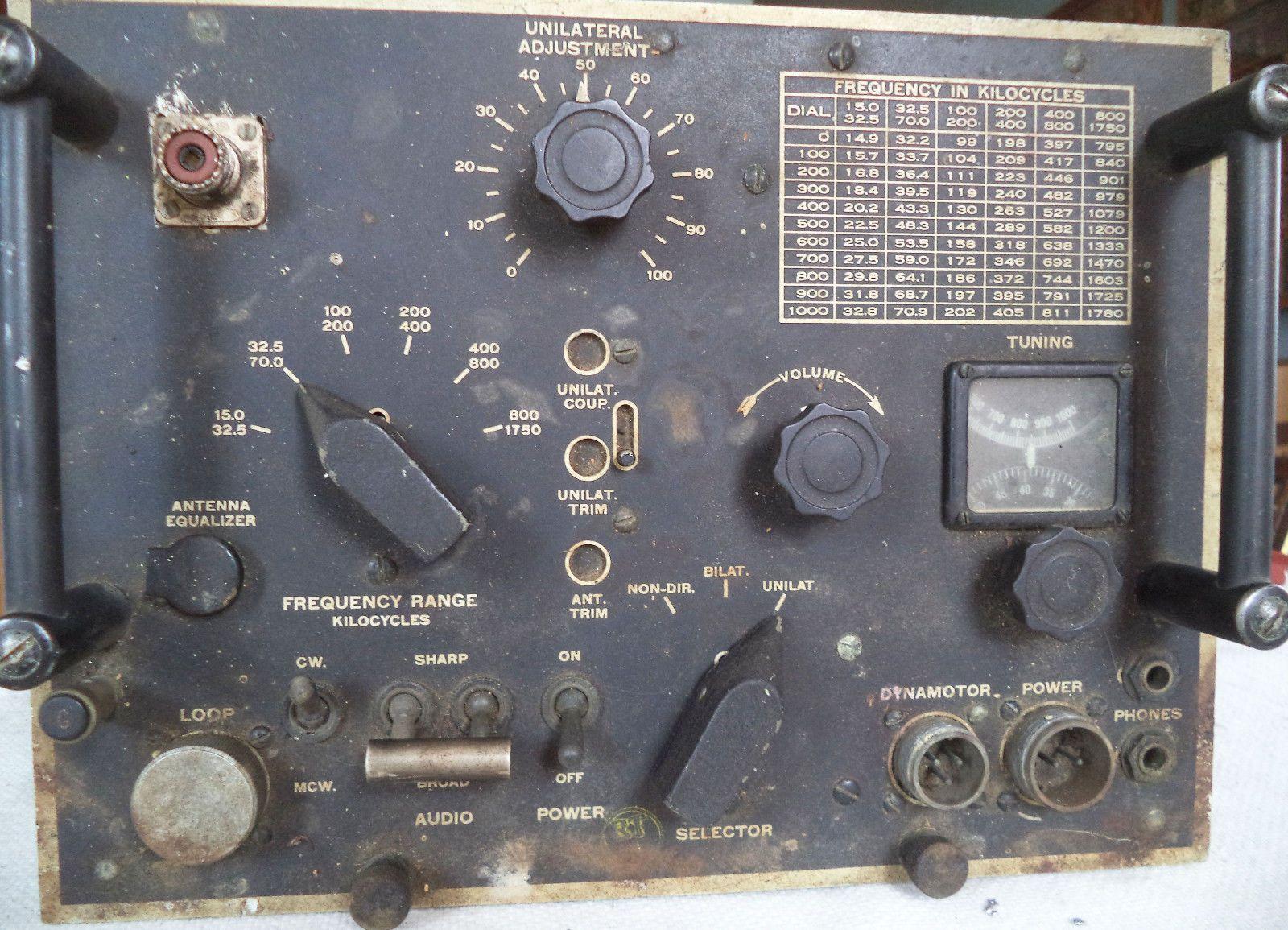 Navbuships receiver model crv46152 for aircraft ham