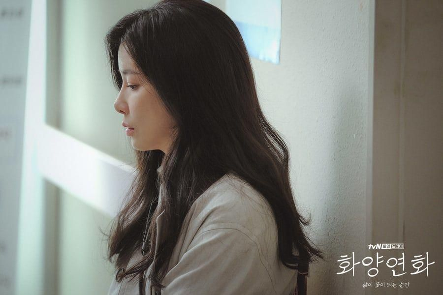 """Lee Bo Young Becomes Lost In Thought During Hospital Visit In """"When My Love Blooms"""""""