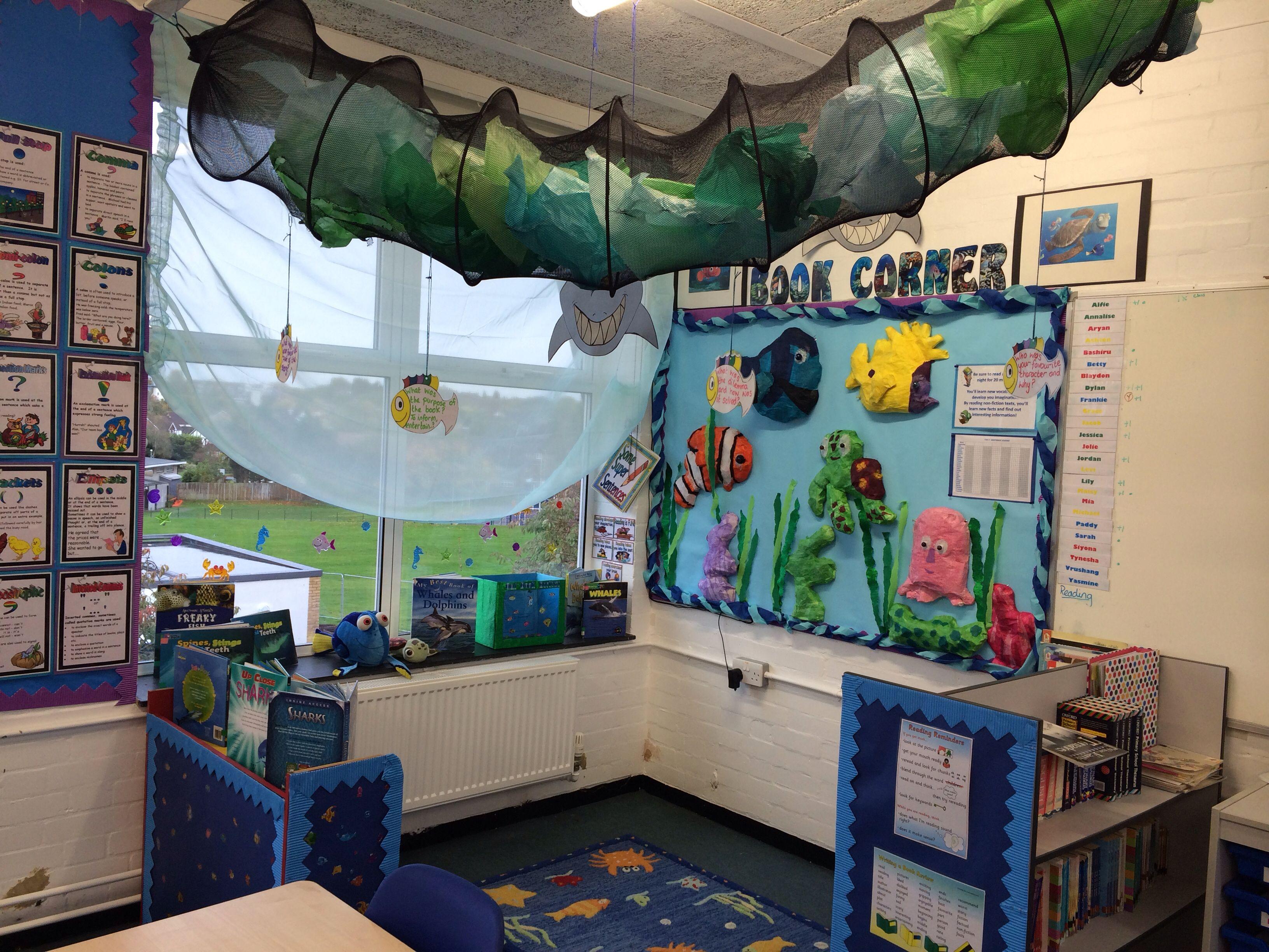 Our Nemo Book Corner