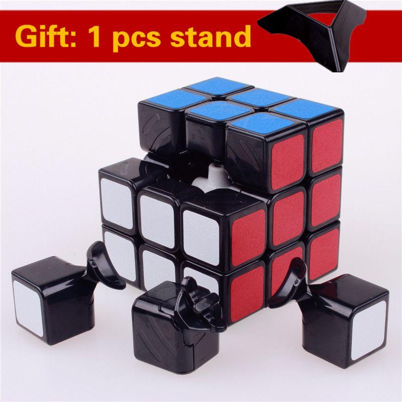 Shengshou 3x3x3 magic speed cube pvc-aufkleber block puzzle cubo magico professionelle lernen & bildungs classic spielzeug cube