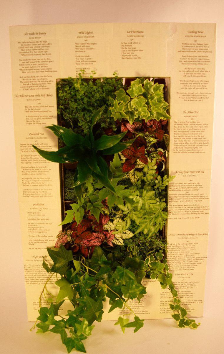 BrightGreen Paintable GroVert Living Wall Planter Kit | Green Thumb ...