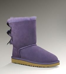 womens purple uggs with bows