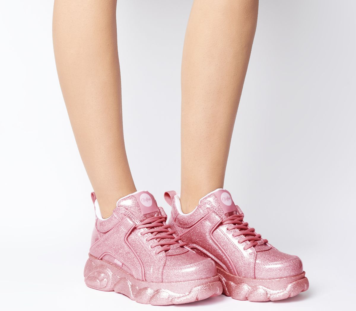 Buffalo Corin Sneakers Pink Hers trainers | Business