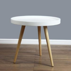 Beau 30 Inch Round Side Table