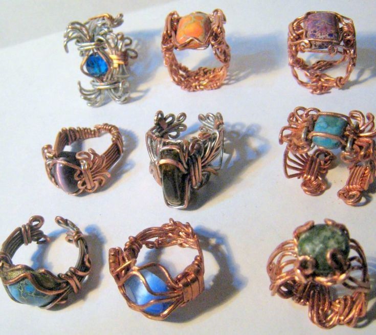 Heavy Gauge Wire Jewelry | Nelson F.C., Gauges and Journal