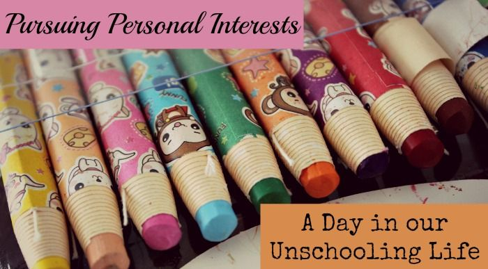 Pursuing Personal Interests - A Day In Our Life - These Temporary - personal interests