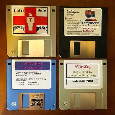 Windows 3.5 various disks lot of 4