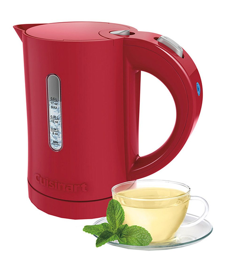 Take a look at this Red Cordless Plastic Kettle today!