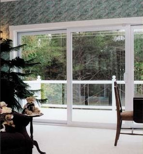 The Park Avenue® Sliding Patio Door With Triple Pane Glass Opens Your Home  To The