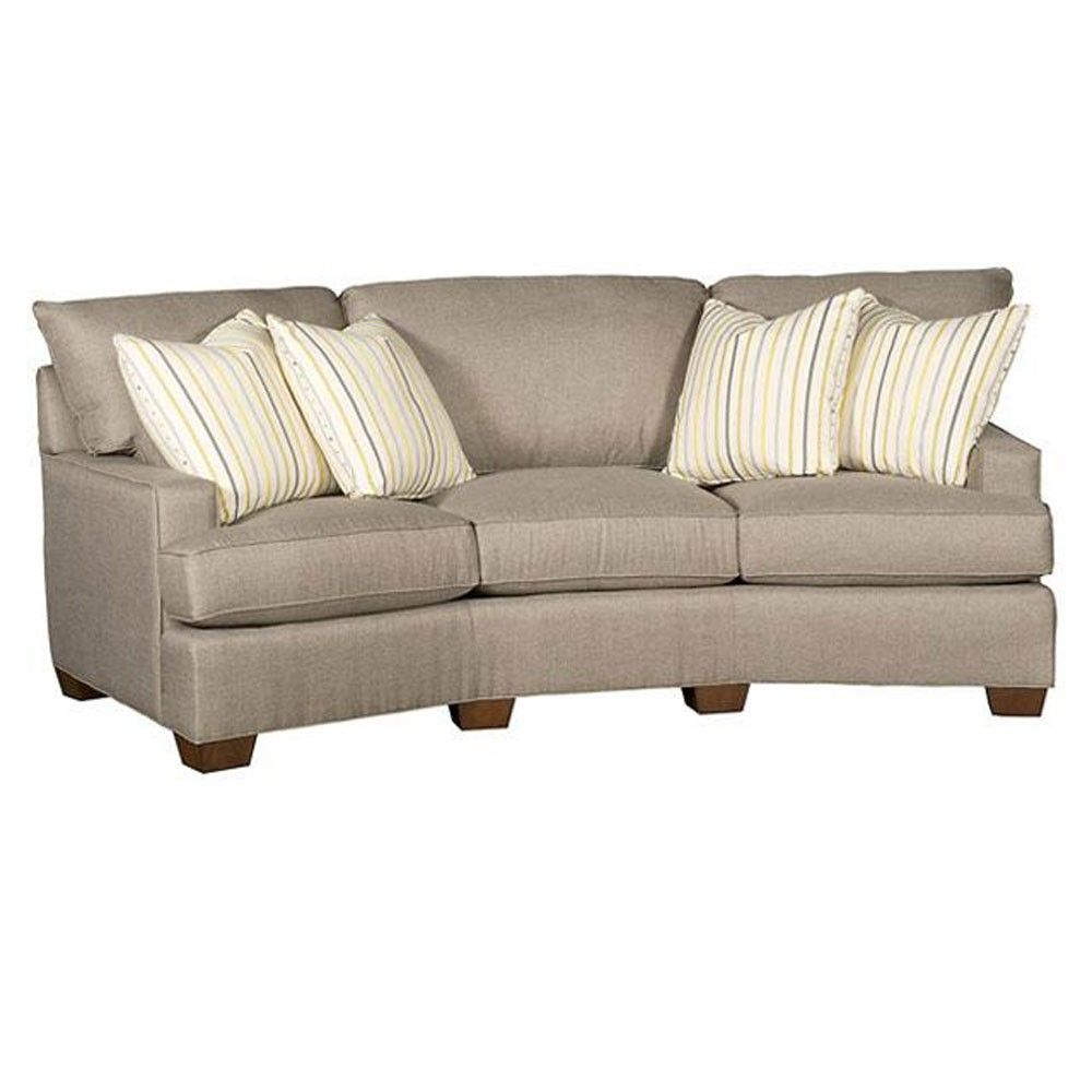 Enchanting Curved Couches For Unique Living Room Sofas Design Ideas: Small  Curved Sectional | Curved