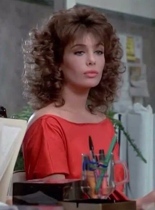 Kelly Lebrock The Woman In Red Kelly Lebrock Curly