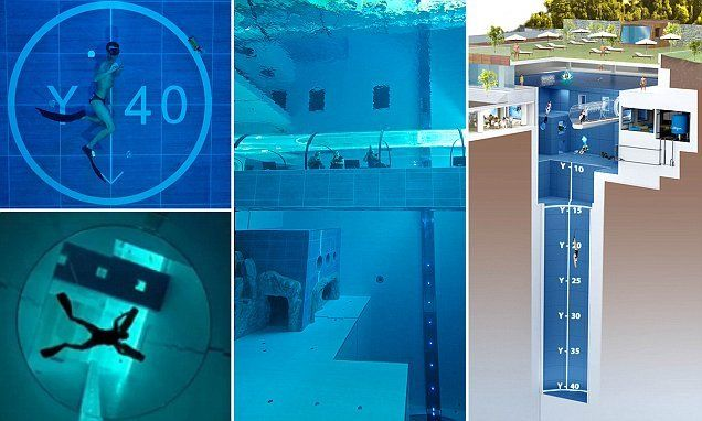 Deep Breath Dare To Dive Into The World S Deepest Pool Y 40
