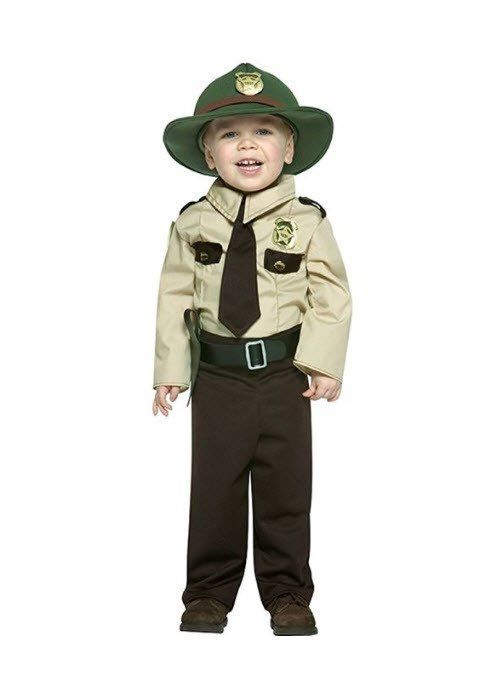 e5b55079d43 Boys Park Ranger Costume. Find this Pin and more on Toddler & Baby Costumes  ...