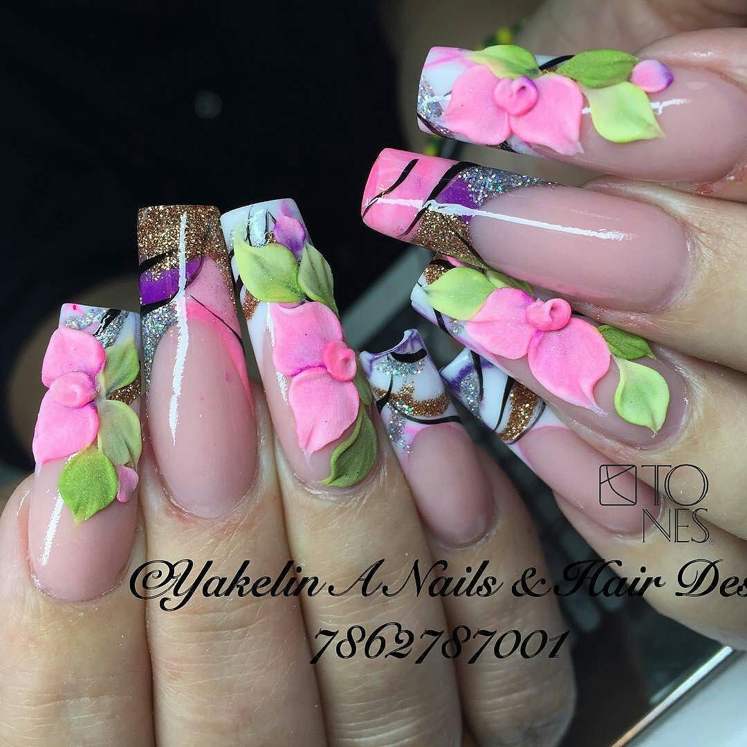 Amazing Nail Art Made Using Tones Products | uñas practica ...