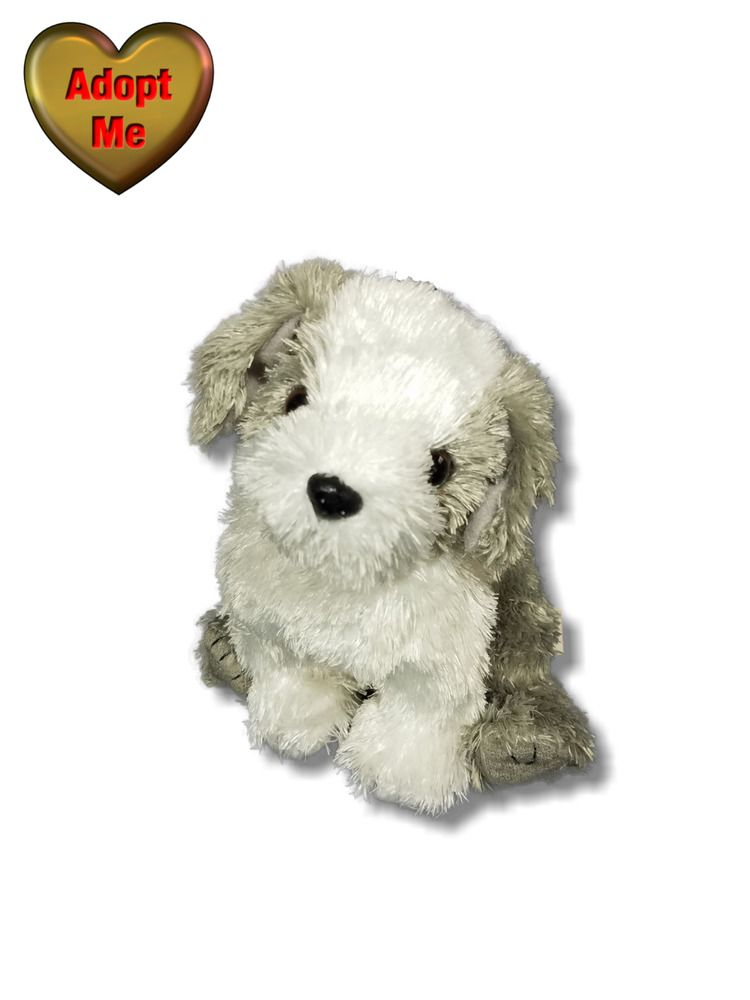 70d12290efb Ty Beanie Babies Herder Old English Sheepdog Bearded Collie Dog Stuffed  Animal  Ty