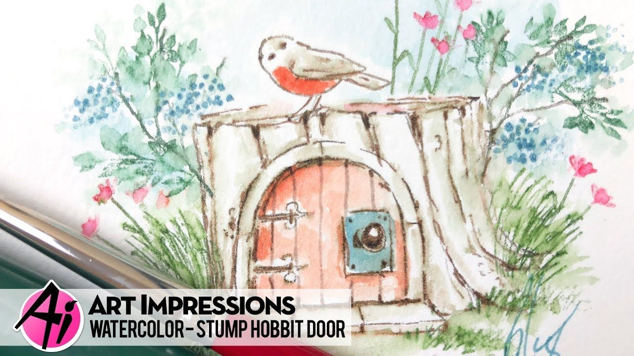 Ai watercolor stump u door as well as the other items i have in