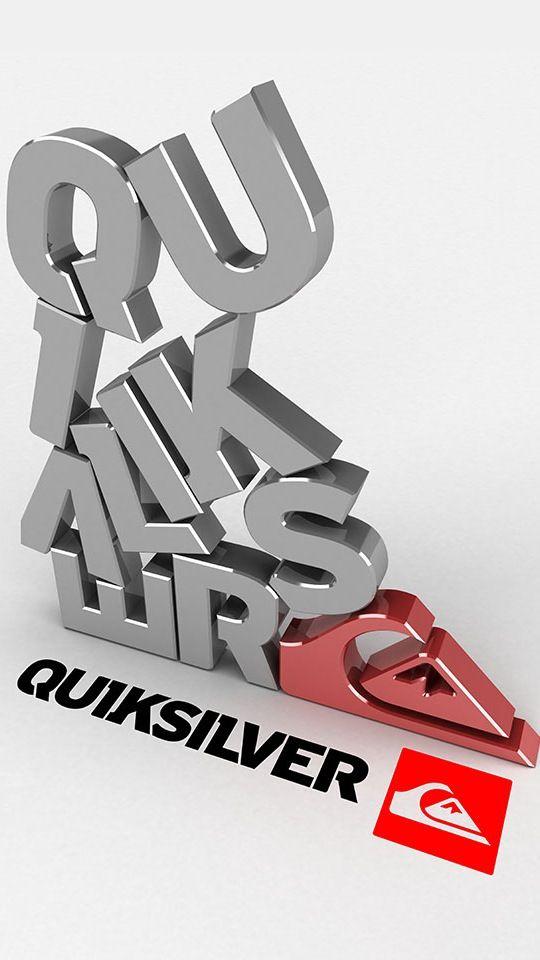 4e1ea8b7b5  QuickSilver Logotipo De Surfe