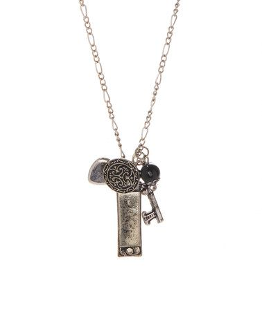 Another great find on #zulily! Silvertone Key Cluster Pendant Necklace #zulilyfinds