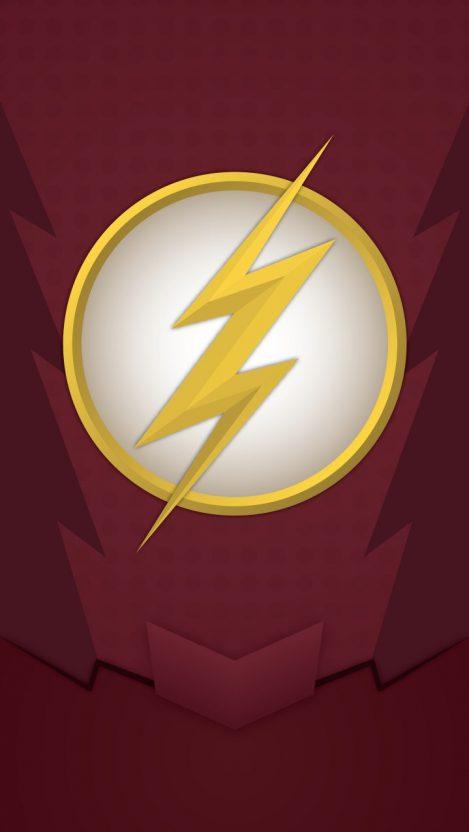 The Flash Logo iPhone Wallpaper Free GetintoPik Fotos