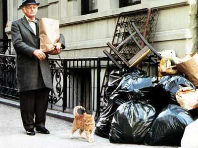"1974 –  ART CARNEY in ""El gato conoce al asesino"" [Harry & Tonto] / role: Harry Coombes"