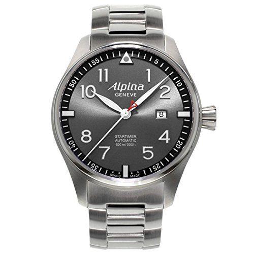 Limited Edition Alpina Startimer Pilot Automatic Sunstar Steel Mens Watch Calendar AL 525GB4S6B - http://besteckkaufen.com/alpina/limited-edition-alpina-startimer-pilot-sunstar