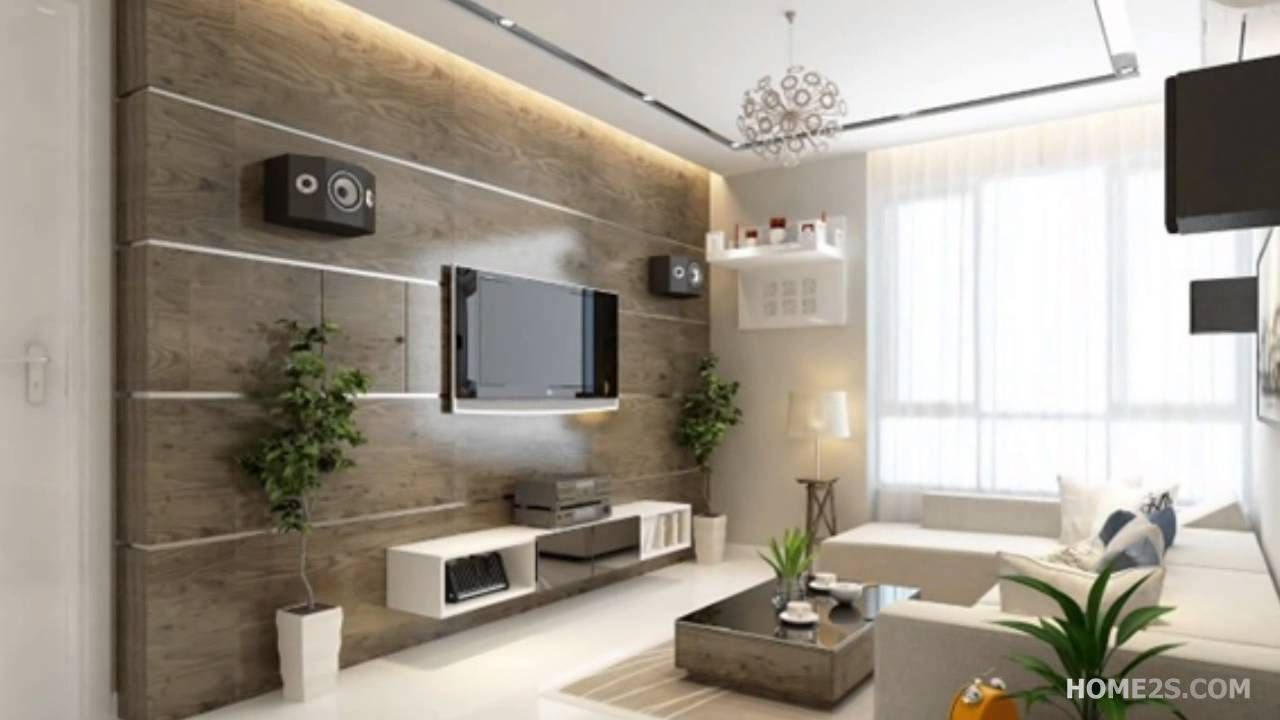 70 Modern Design Ideas For Living Room Interior House Paint Ideas Check More At Http Www Soarority Hall Interior Design Small Living Rooms Tv Room Design