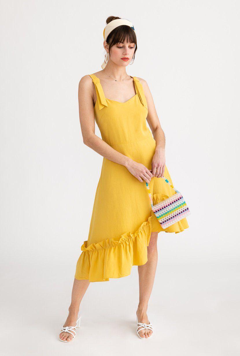 43++ Petite yellow dress ideas