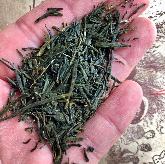 Photo of Gyokuro Green Tea. Premium Japanese Loose Leaf Green Tea. – Greentea