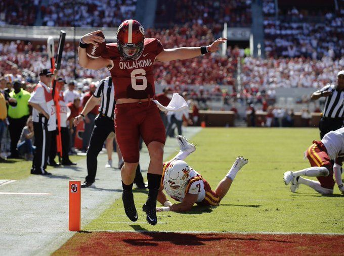 Live Ou Vs Iowa State Sooners Oklahoma Football College Football Games