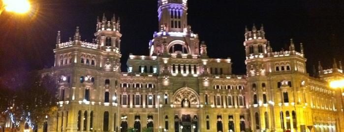 Palacio de Cibeles is one of The 15 Best Places with Scenic Views in Madrid.