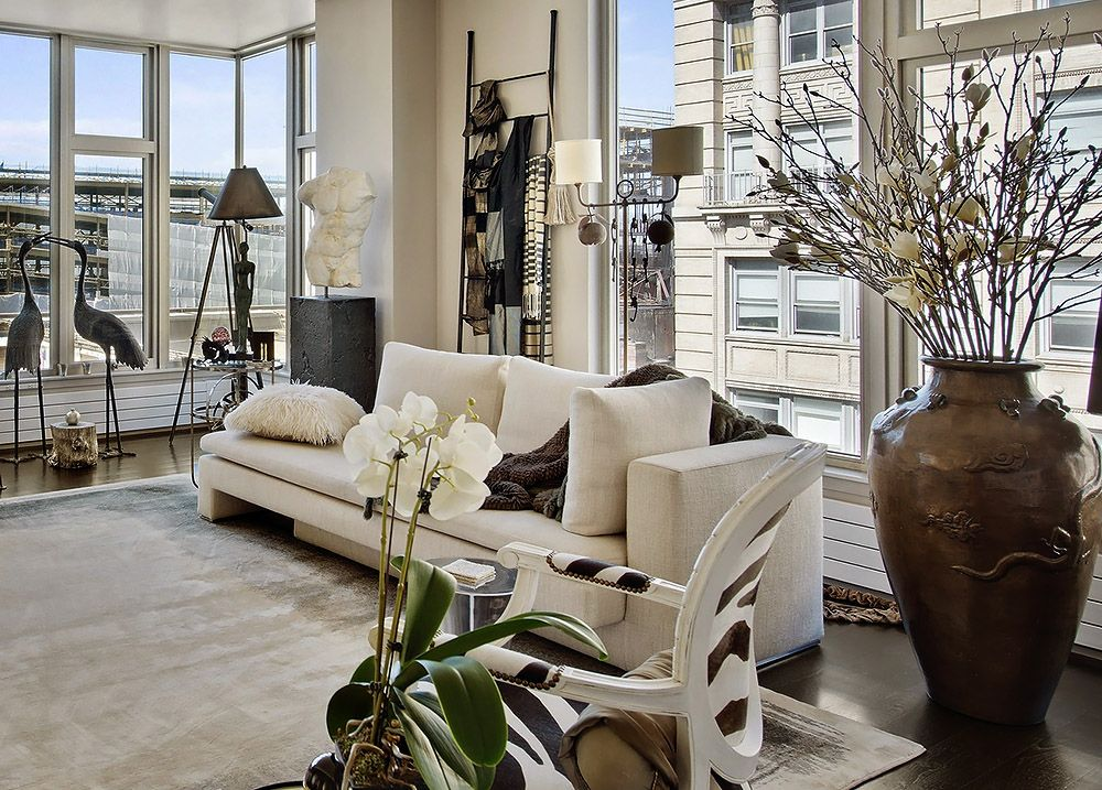 Glam New York City Apartment Fabulous And Sexy Interiors In This
